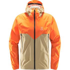 Haglöfs L.I.M Proof Chaqueta Multi Hombre, naranja/beige